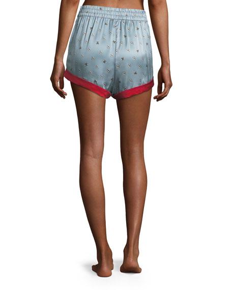 Chloe Bee Daisies Pajama Shorts