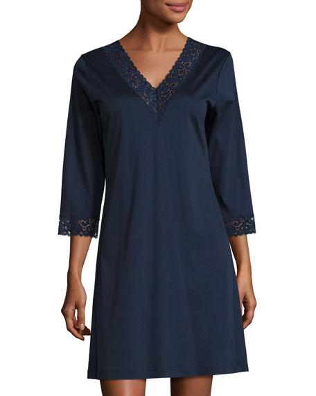 Moments Lace-Trim Sleepshirt
