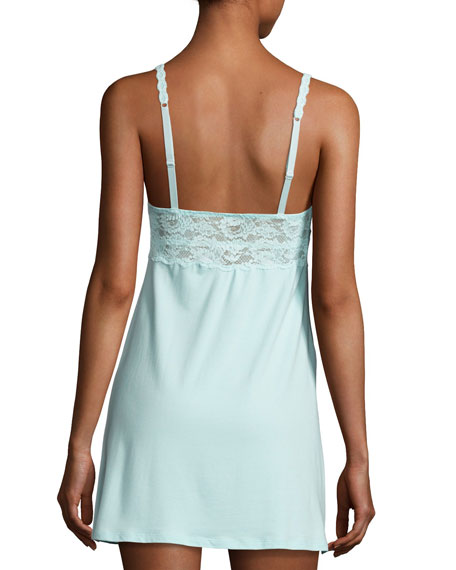 Mommie Lace-Trim Maternity Babydoll