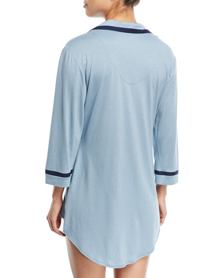 Bella Long-Sleeve Sleepshirt