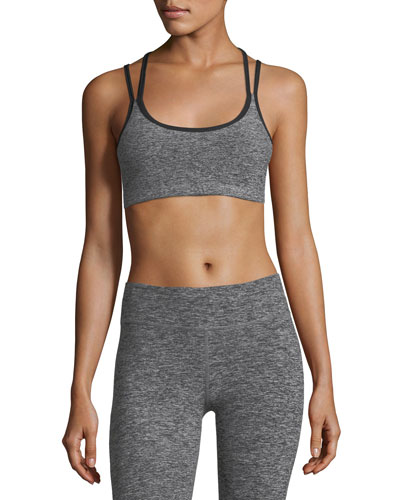 Strappy Hour Spacedye Medium-Impact Sports Bra