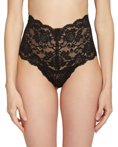 Evelyn Retro Signature Lace Thong