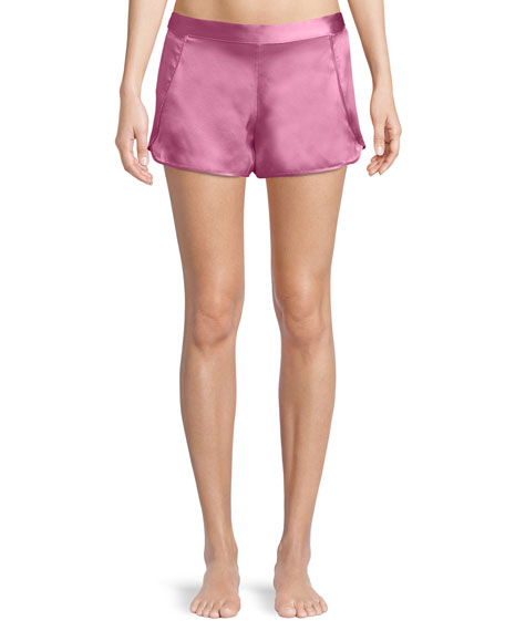 Josie Natori Key Essentials Silk Lounge Shorts