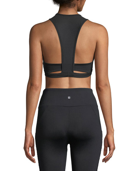 Warren Cutout Racerback Sports Bra