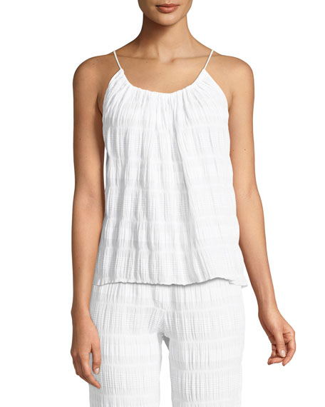 Nadia Gauze Knit Lounge Camisole