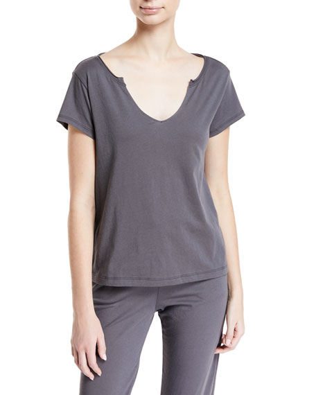 Olena Short-Sleeve Lounge T-Shirt