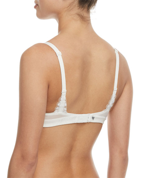 Manille Feathered Demi Bra