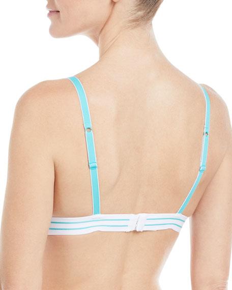Bisou Striped Elastic Bralette