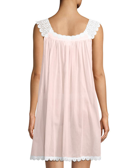 Donata Sleeveless Short Nightgown
