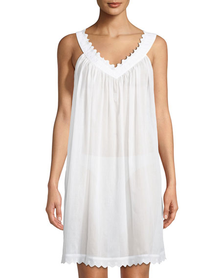 Antigone Sleeveless Short Nightgown