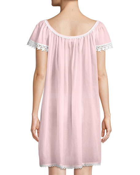 Evening Star Short-Sleeve Nightgown