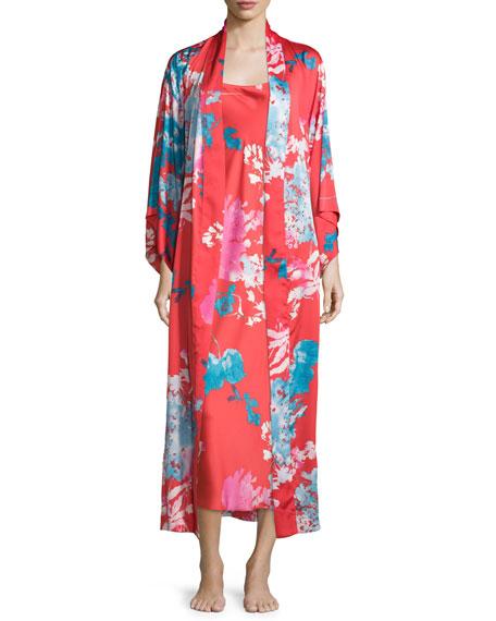 Chianti Floral Gown, Cinnabar