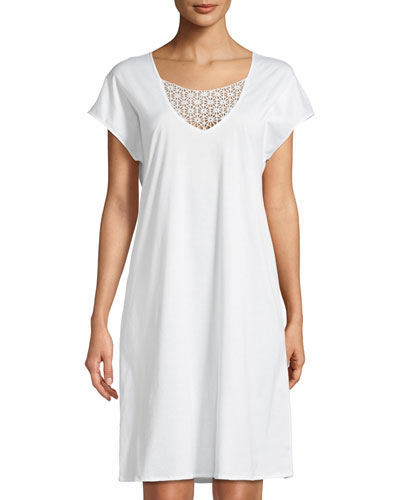 Melissa Short-Sleeve Nightgown