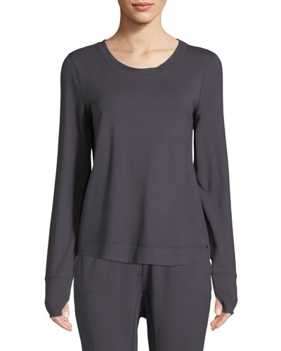 Balance French Terry Lounge Sweatshirt