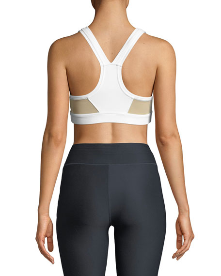 Anna Knockdown Matte Sports Bra