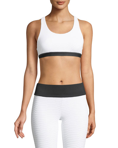 Tax Cutout Racerback Sports Bra