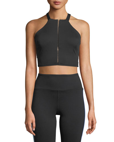 Axial Strappy Back Performance Bustier