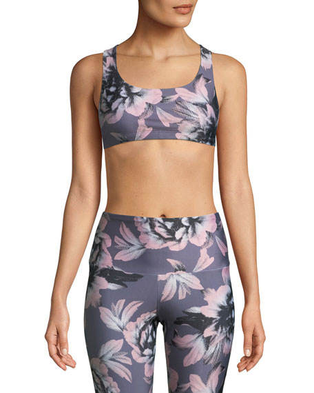 Mudra Medium-Support Strappy-Back Sports Bra
