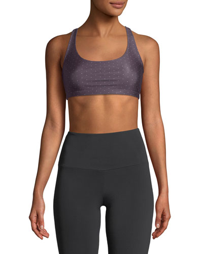 Chic Strappy Low-Impact Sports Bra