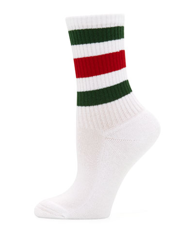 Little William Striped Web-Cuff Socks