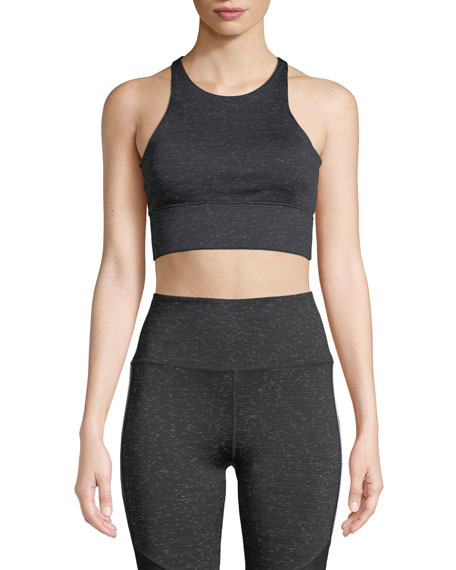 Nylora Monroe Racerback Performance Crop Tank Top