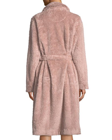 Yvette Long Fuzzy Robe