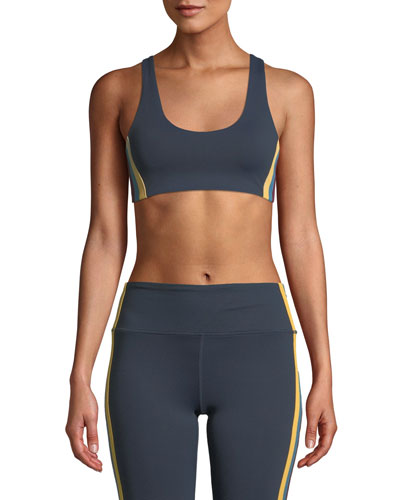 Shakti Side-Stripe Sports Bra