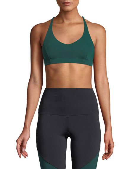 ONZIE PYRAMID STRAPPY SPORTS BRA