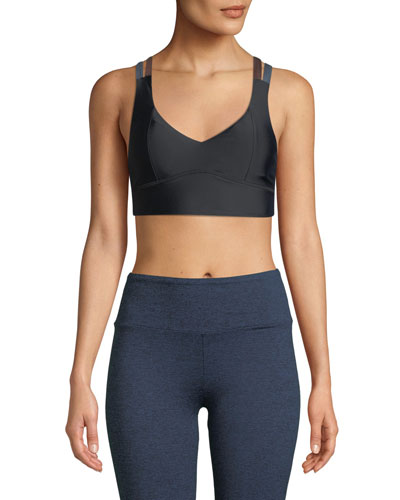 Jaron Strappy-Back Sports Bra