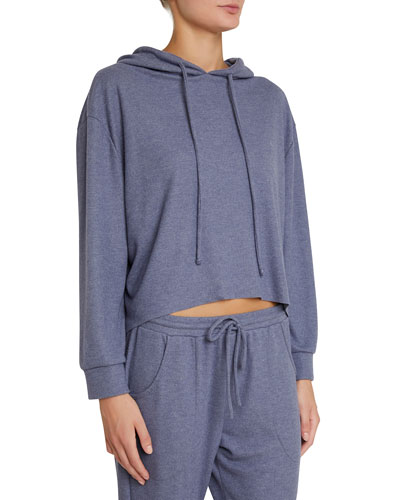 Mina High-Low Lounge Hoodie Sweatshirt