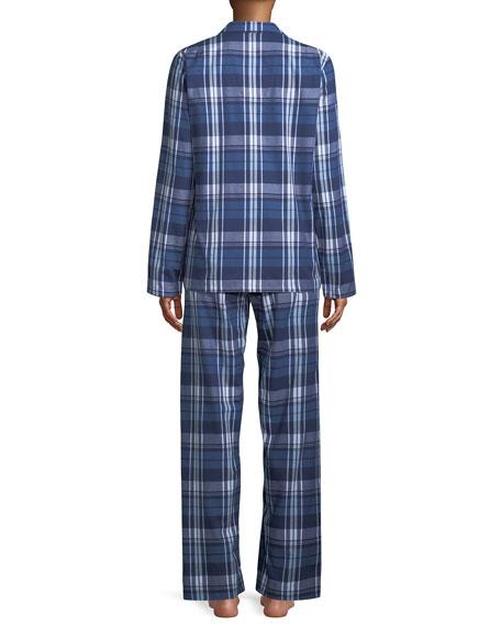 Ranga Plaid Classic Pajama Set