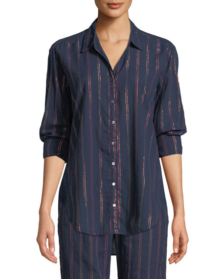 Beau Beckett Striped Lounge Shirt