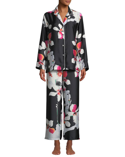 9600d8ec07 Designer Pajamas   Cotton   Poplin Pajamas at Bergdorf Goodman
