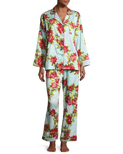 Hibiscus Classic Pajama Set