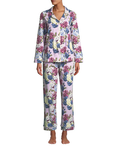 Bedhead Plus Size Floral Jewels Classic Pajama Set
