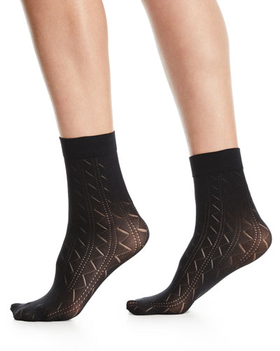 Florence Zigzag Ankle Socks