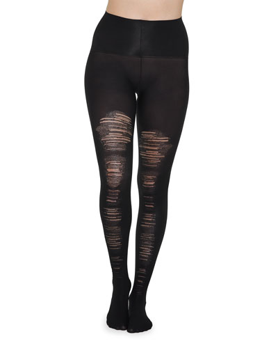 Destroyed Tummy-Shaping Tights