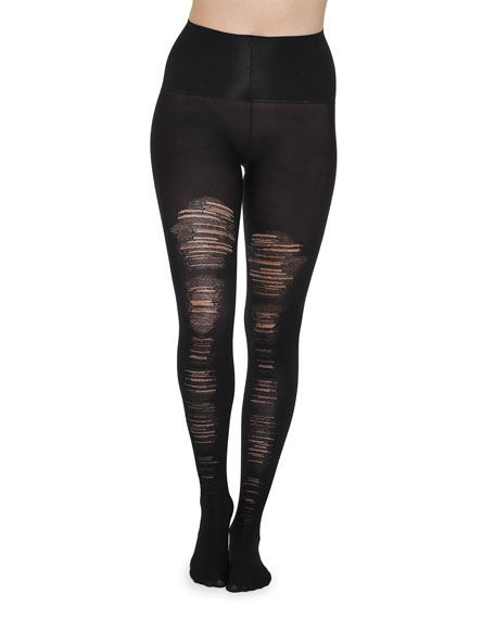 Spanx Destroyed Tummy-Shaping Tights