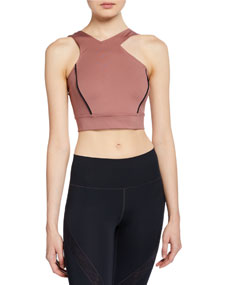 Misty Crop Top With Shoulder Cutout by Under Armour