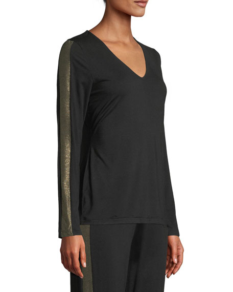 Becca Long Sleeve Top with L