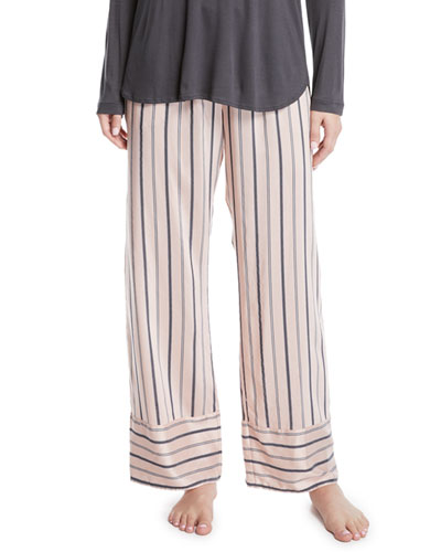 Malie Striped Lounge Pants