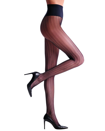 Lashes Net Tights