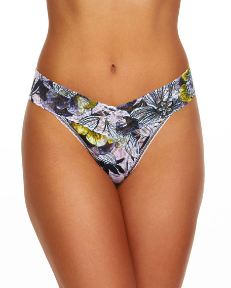 Hanky Panky Goldilocks Original Rise Lace Thong