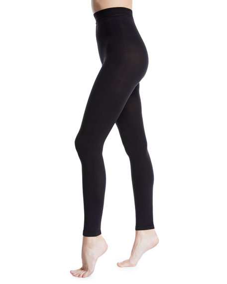 Donna Karan Matte Jersey Footless Tights
