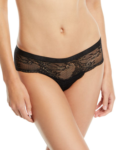 Image 1 of 1: Trenta Lace Hotpant Briefs
