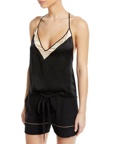 Amour T-Back Silk Camisole