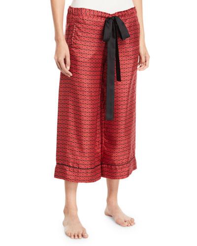 Desir Hand-Cuff Silk Lounge Pants