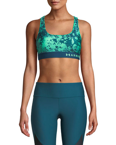 Armour Mid-Impact Crossback Sports Bra