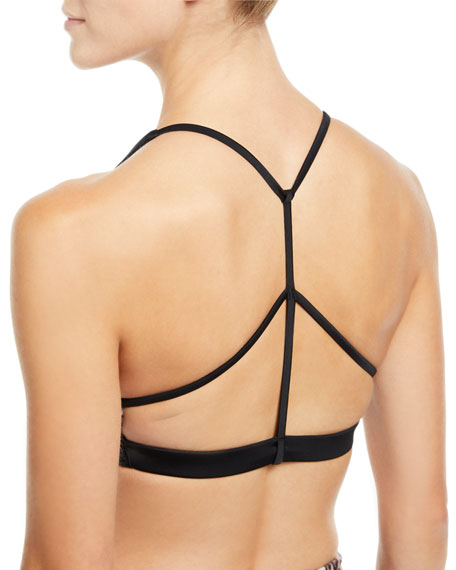 Pyramid Strappy Low-Impact Sports Bra