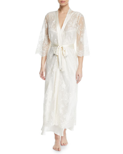 Jamaica Long Lace Robe